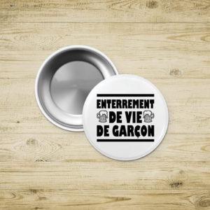 Badges magnet – Enterrement de Vie de Garçon