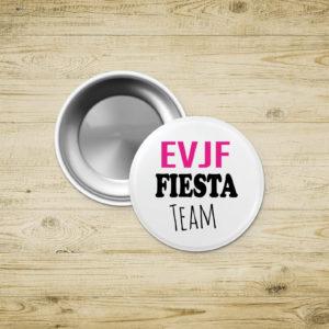 Badges porte-clef - EVJF - FIESTA TEAM