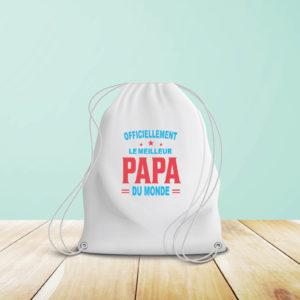Sac à bretelles - Meilleur papa